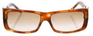 Prada Sport Square Tortoise Sunglasses