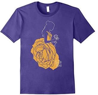 Disney Beauty & The Beast Belle A Rose Dress Graphic T-Shirt