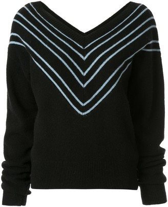 Georgia Alice Noel chevron jumper