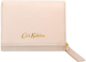Cath Kidston Shell Pink Small Leather Compact Wallet