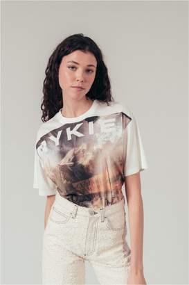 Sonia Rykiel Printed Landscape Long T-Shirt