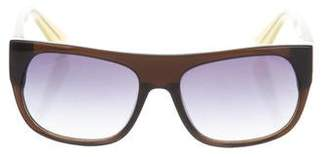 3.1 Phillip Lim Bicolor Tinted Sunglasses