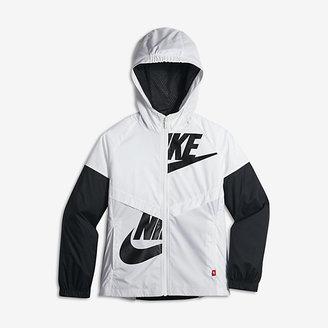 Nike Sportswear Windrunner Big Kids' (Girls') Jacket $65 thestylecure.com