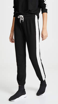 Monrow Black Two Tone Supersoft Sweats