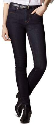 Karen Millen Signature Skinny Jeans in Dark Denim