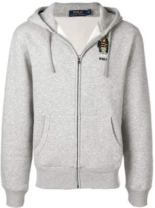 Polo Ralph Lauren zipped up hoodie