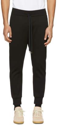Attachment Black Cotton Lounge Pants