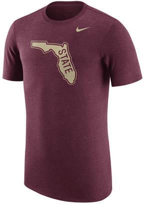 Nike Men Florida State Seminoles Vault Logo Tri-Blend T-Shirt