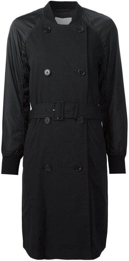 3.1 Phillip Lim 3.1 Phillip Lim bomber sleeve trench coat