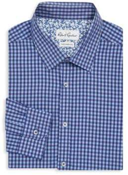 Robert Graham Lucca Tailored-Fit Check Dress Shirt