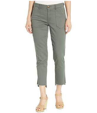 Democracy High-Rise AbSolution Pork Chop Pants with Step Hem