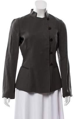 Giorgio Armani Long Sleeve Button-Up Jacket