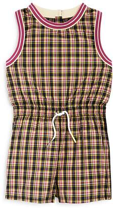 Burberry Girls' Pollie Check Playsuit - Little Kid, Big Kid