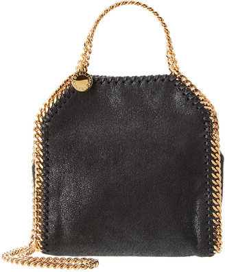 Stella McCartney Falabella Tiny Shaggy Deer Shoulder Bag