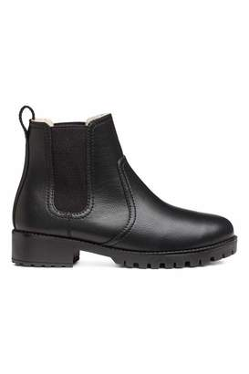 H&M Warm-lined Chelsea Boots