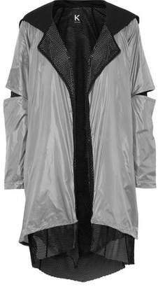 Koral Billboard Layered Shell And Mesh Hooded Jacket