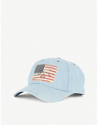 Polo Ralph Lauren American-flag denim cap