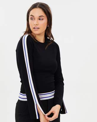 Karen Millen Stripe Knit Jumper