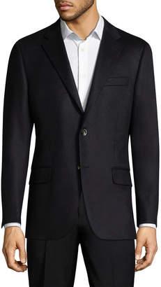 Hickey Freeman Notch Lapel Cashmere Sportcoat