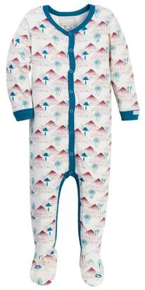Coccoli Forest Print Footie (Baby)