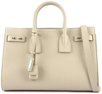 Saint Laurent Classic Sac De Jour Nude Soft Grained Leather