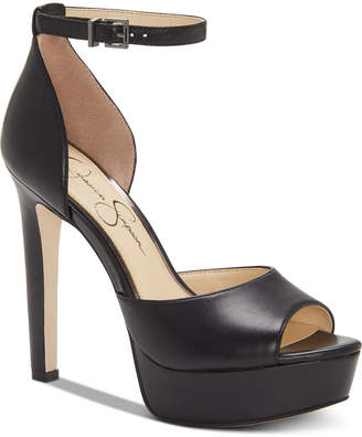 Jessica Simpson Beeya Two-Piece Platform Sandals, Women Shoes