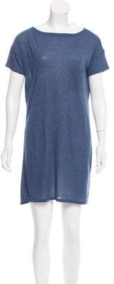 Alexander Wang Short Sleeve T-Shirt Dress