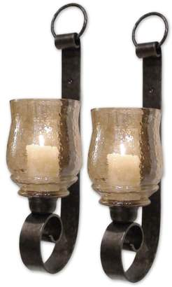 Uttermost 'Joselyn - Small' Wall Sconces