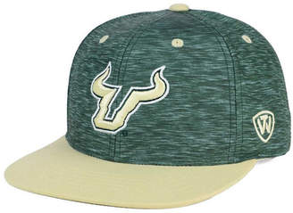 Top of the World South Florida Bulls Energy 2-Tone Snapback Cap