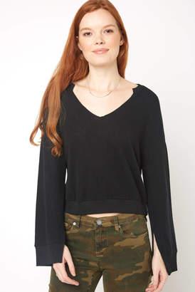 Z Supply Slit Sleeve Pullover