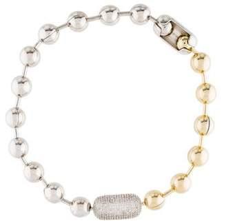 Eddie Borgo Pavé Ball Chain Necklace