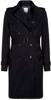 Sandro Tailored Trench Coat