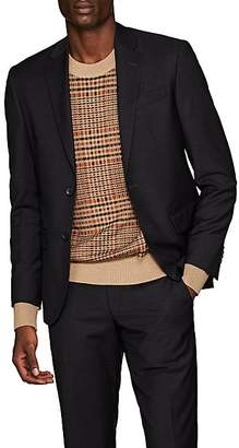 Barneys New York MEN'S FABIO WOOL TWO-BUTTON SPORTCOAT - BROWN SIZE 44