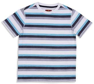7 For All Mankind Boys' Striped Tee - Big Kid