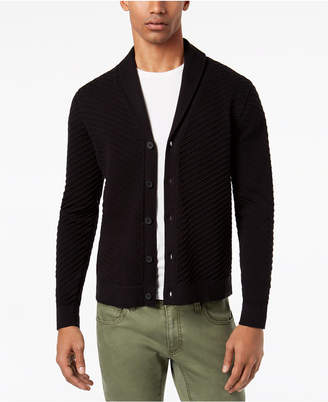 INC International Concepts I.N.C. Men's Ribbed Cardigan, Created for Macy's