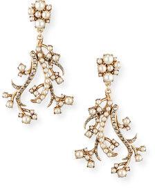 Lulu Frost Satine Earrings $275 thestylecure.com