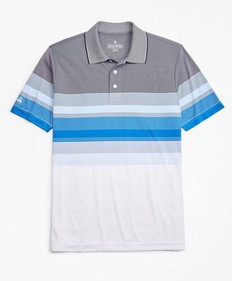 Brooks Brothers Performance Series Gradient Stripe Polo Shirt