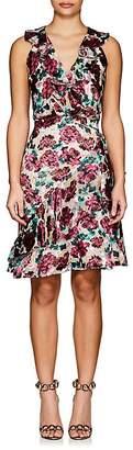Saloni Women's Floral Burnout Rita C Dress