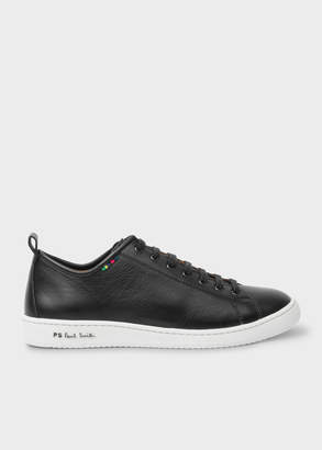 Paul Smith Men's Black Calf Leather 'Miyata' Trainers