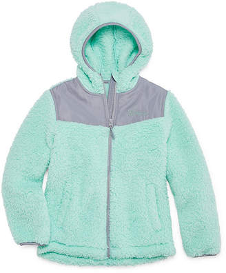 Weatherproof Lightweight Fleece Jacket-Big Kid Girls