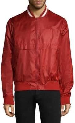 Bally Knit Collar Bomber Jacket