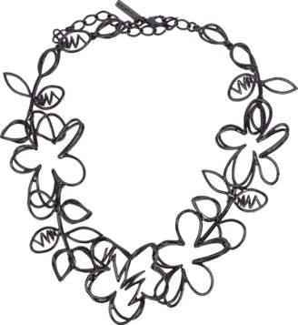Oscar de la Renta Botanical Scribble Necklace