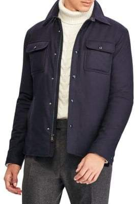 Ralph Lauren Purple Label Leeson Shirt Jacket