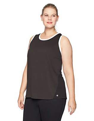 Champion Women's Plus-Size Double Dry Heather Tank