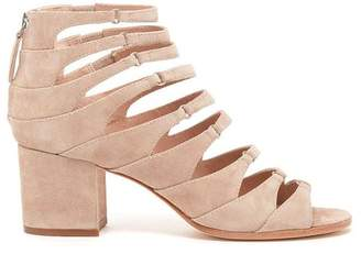 Pour La Victoire Amani Sandstone Block Heel Sandal