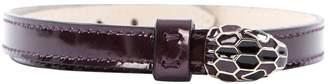 Bulgari Purple Patent leather Bracelets