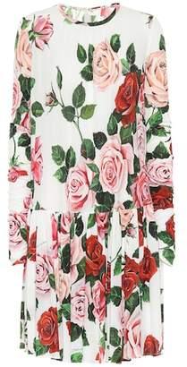 Dolce & Gabbana Floral-printed dress