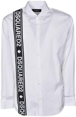 DSQUARED2 Logo Stripe Shirt