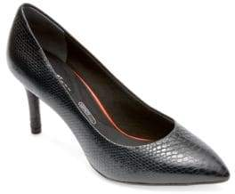Rockport Total Motion Leather Point-Toe Pumps