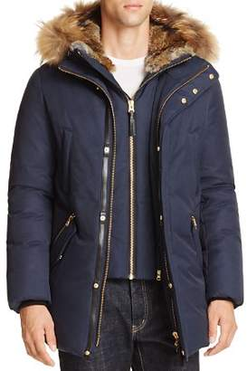 Mackage Edward Fur Trim Hooded Jacket